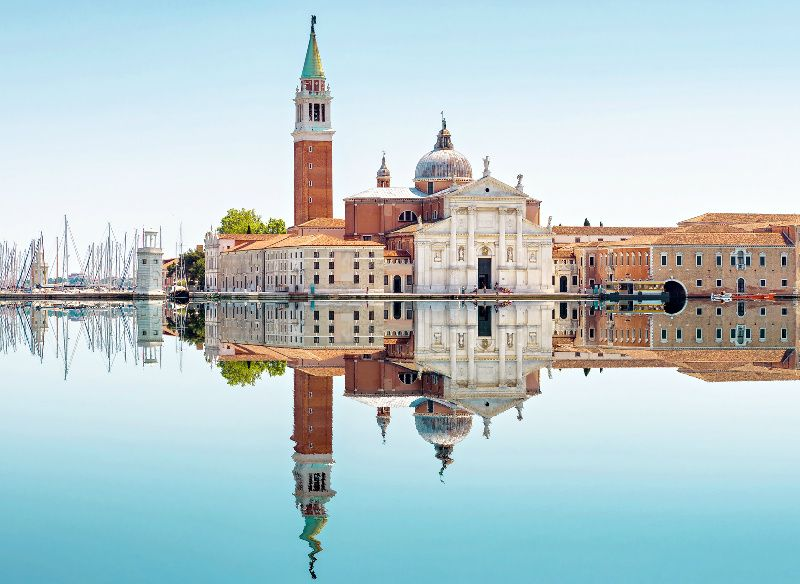 Venice Grand Canal Boat Tour with Church of San Giorgio Maggiore