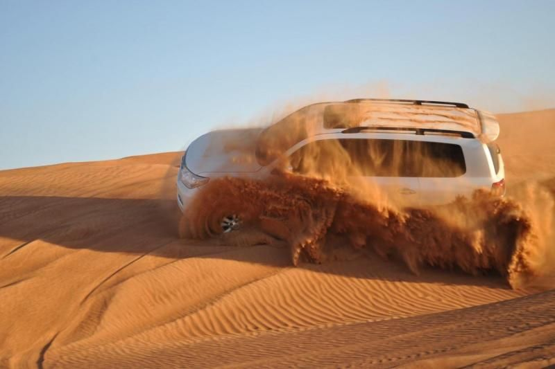 Premium 4x4 Desert Safari with Dinner