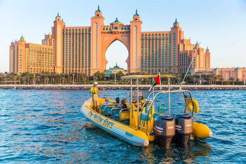 Dubai Yellow Boats Sightseeing Cruise