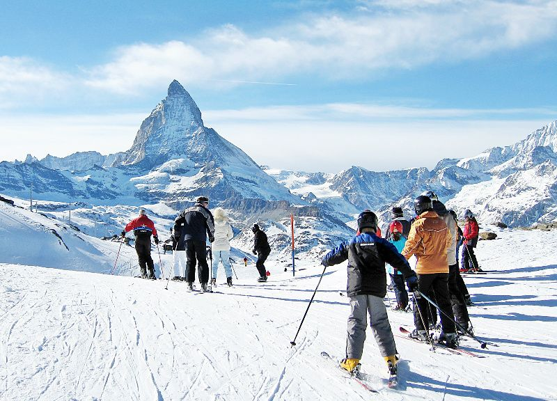 5-Day Swiss Alps Ski Package: Aletsch Arena / Saas-Fee / Zermatt