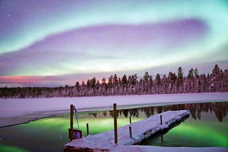 Lapland Northern Lights Tour from Rovaniemi incl. BBQ Meal