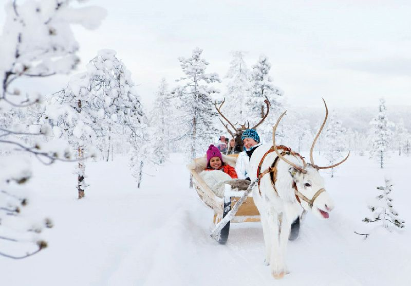 2-Day Lapland Winter Holiday from Rovaniemi
