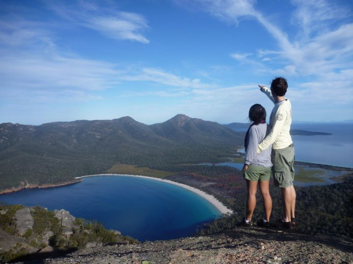 Launceston to Hobart via Wineglass Bay Day Trip
