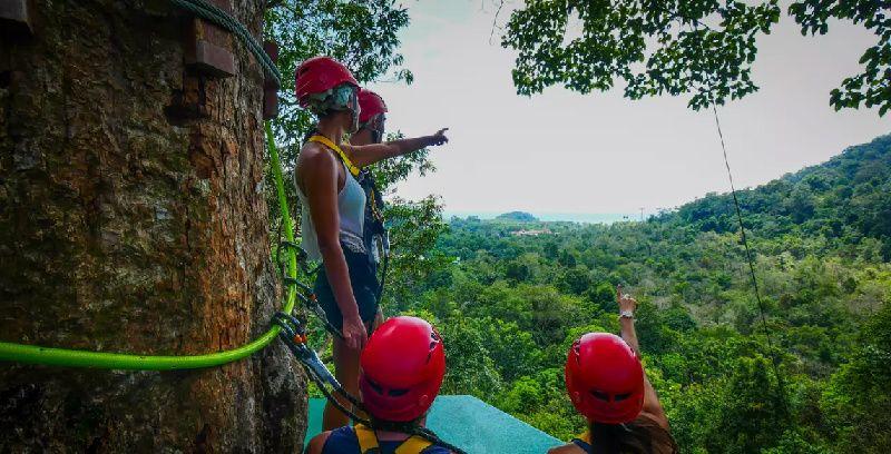 Langkawi Rainforest Zipline Adventure Tours