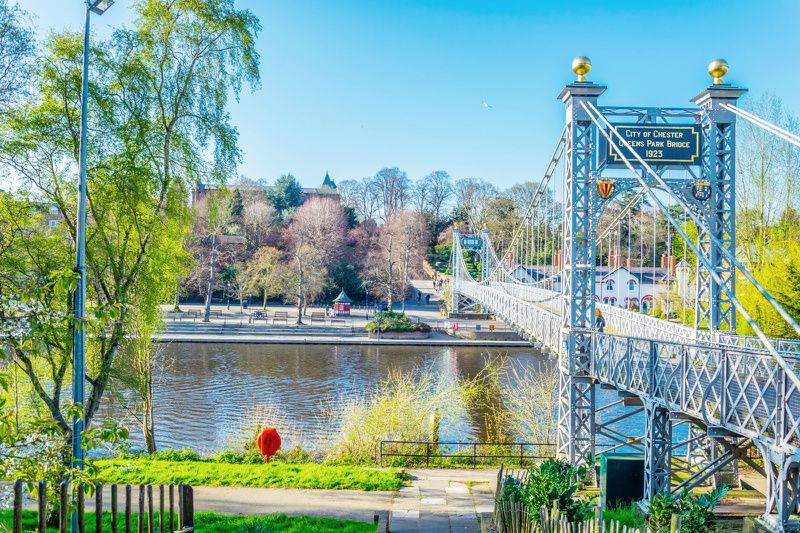 Chester Day Trip from London by Rail