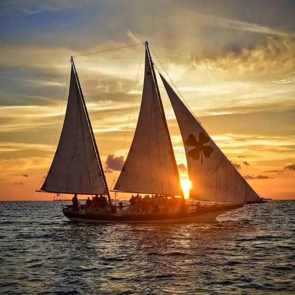 2-Hour Schooner Champagne Sunset Sail