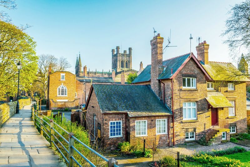 Chester Day Trip from Manchester by Rail