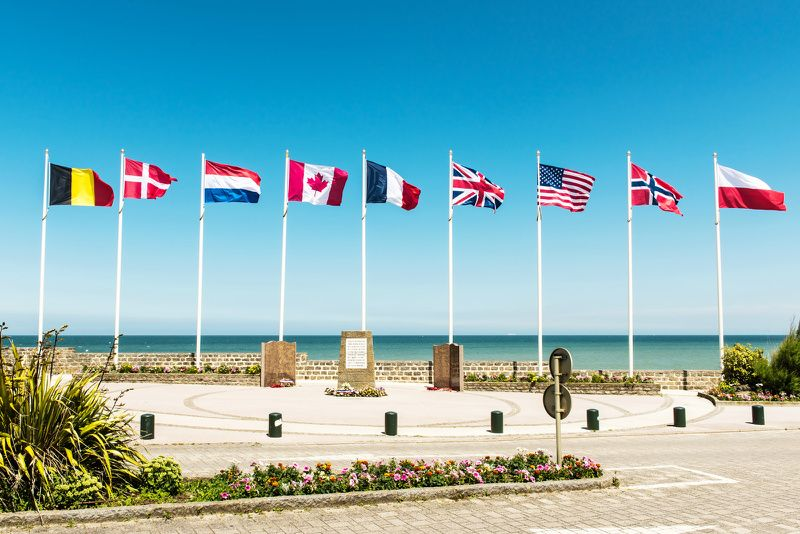 D-Day Beaches of Normandy Day Trip from Paris with Lunch