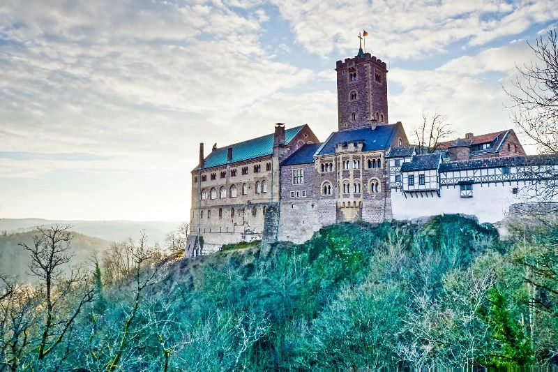 Wartburg Castle Day Tour from Frankfurt