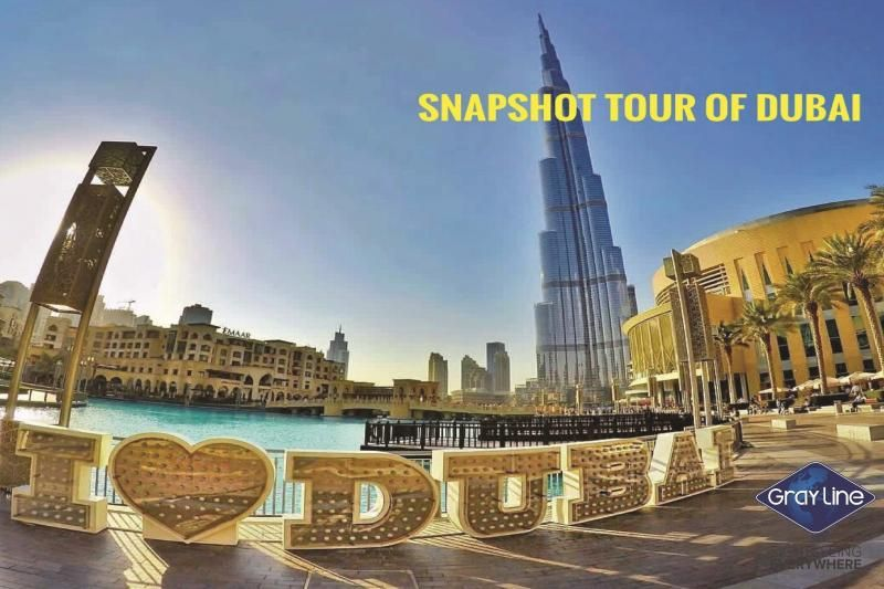 SNAPSHOT tour of Dubai