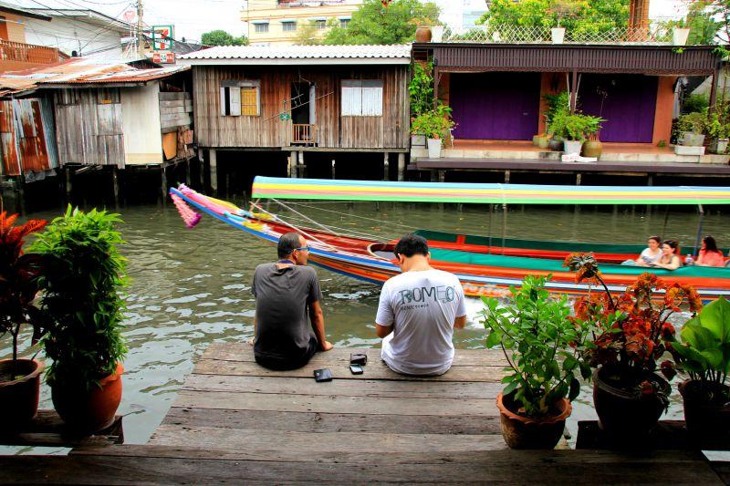 Bangkok Canal Boat & Bike Tour