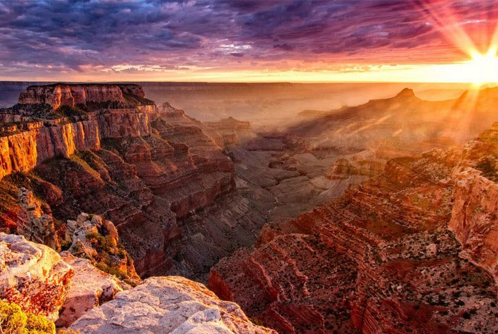 1-Day Grand Canyon West Sunset Bus Tour