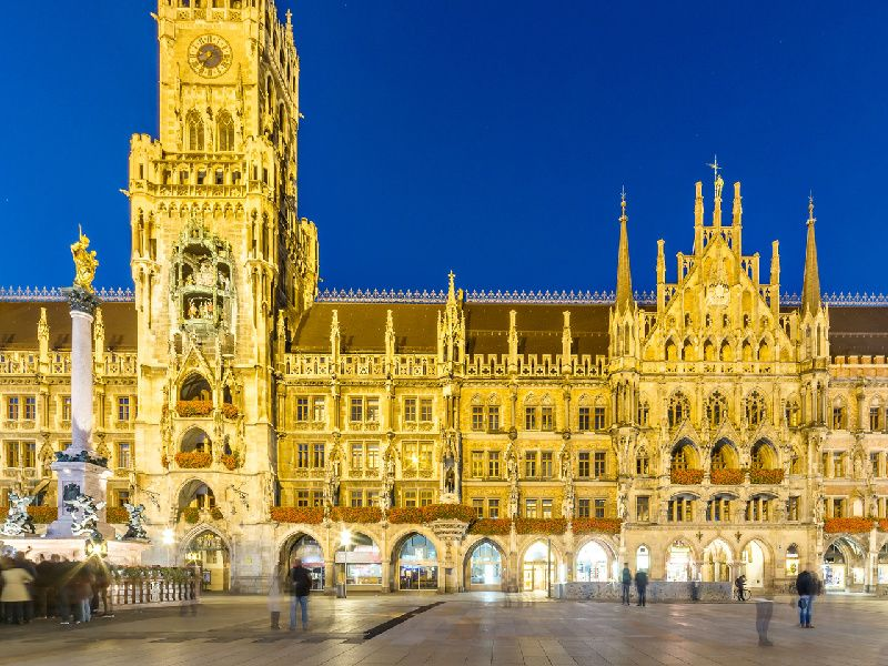 5-Day Central and Eastern Europe Tour: Frankfurt to Munich