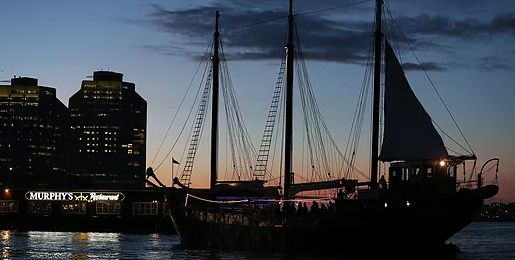 The Floating Pub Party Cruise aboard the Tall Ship Silva