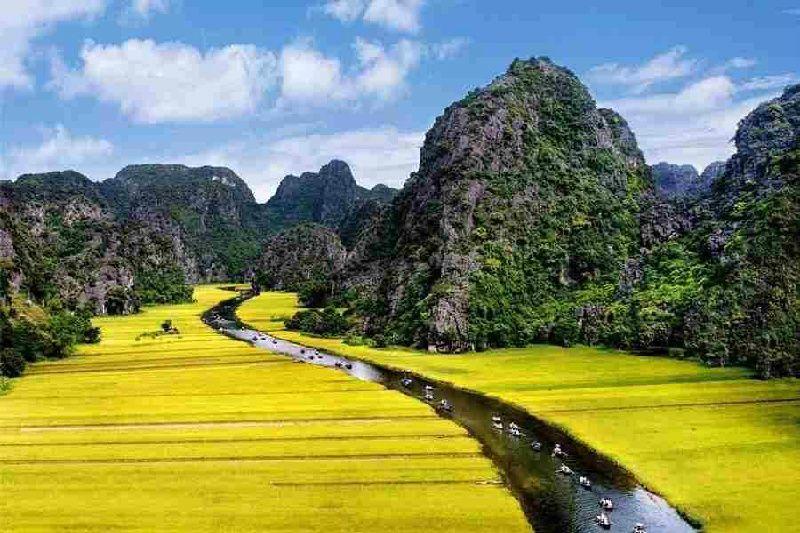 1-Day Hoa Lu Tam Coc Tour From Hanoi
