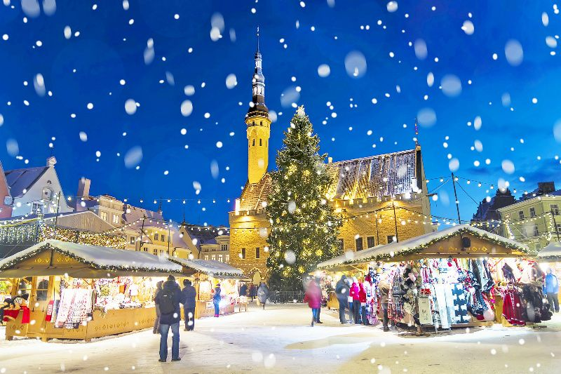 4-Day Tallinn Christmas Market Holiday Package