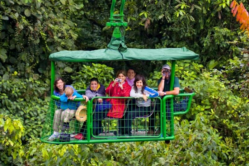 1-Day From San Jose - Caribbean Rainforest Aerial Tram