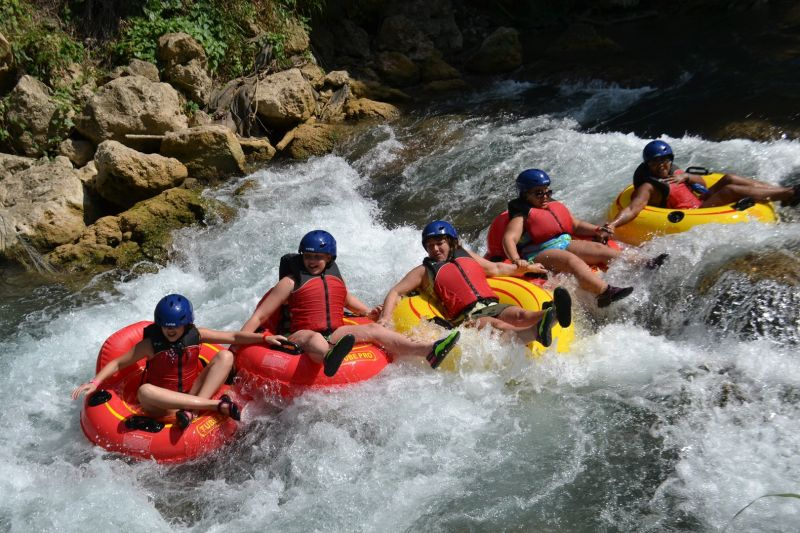 River Rapids Jungle River Tubing Adventure from Falmouth
