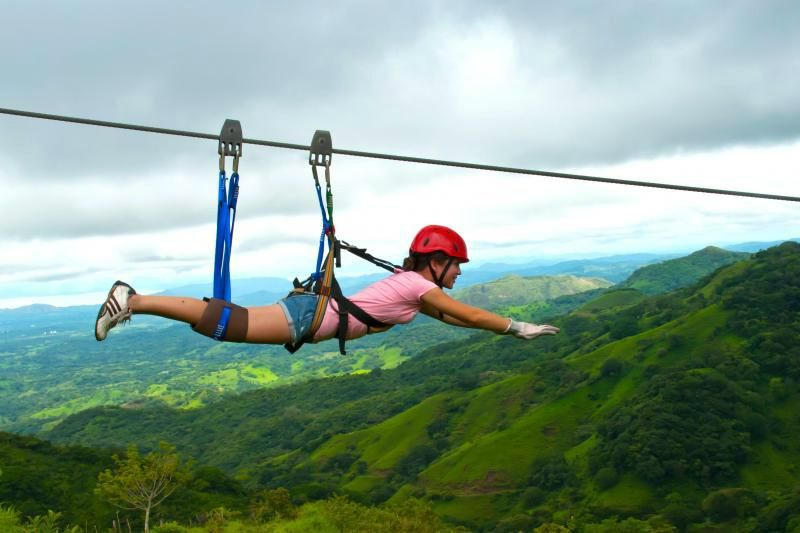 1-Day From Puntarenas - Zip Line Tour over 11 Waterfalls