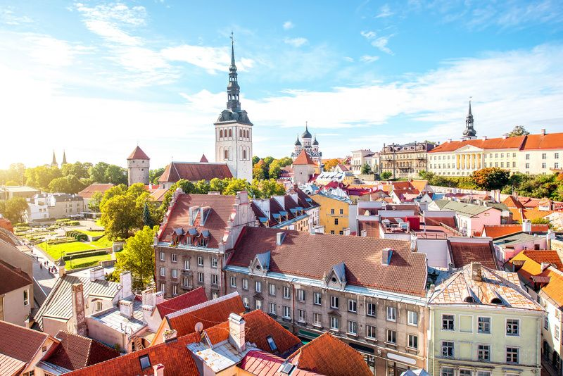 Tallinn Day Tour from Helsinki by Ferry