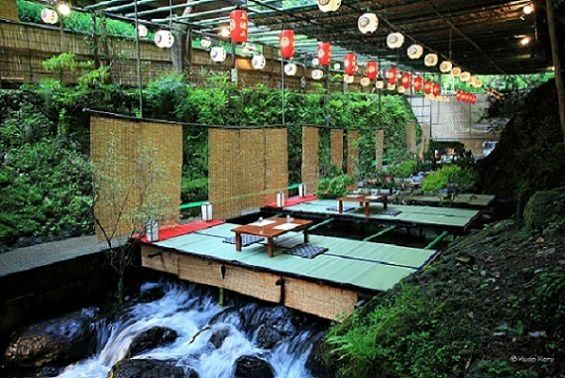 1-Day Kyoto Poetic Summer Experience with Kawadoko Dining Experience