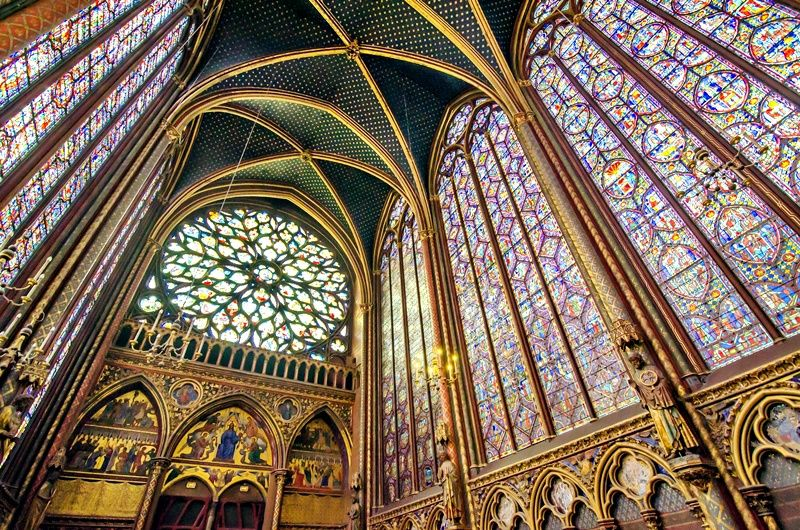 Louvre Museum and Sainte Chapelle Guided Tour