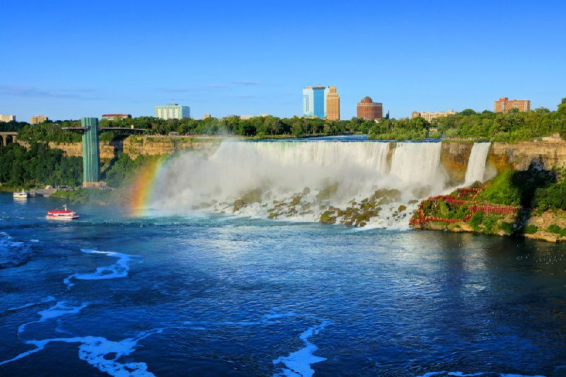 2-Day Niagara Falls & Corning Tour from New York/New Jersey with English-Speaking Guide Only