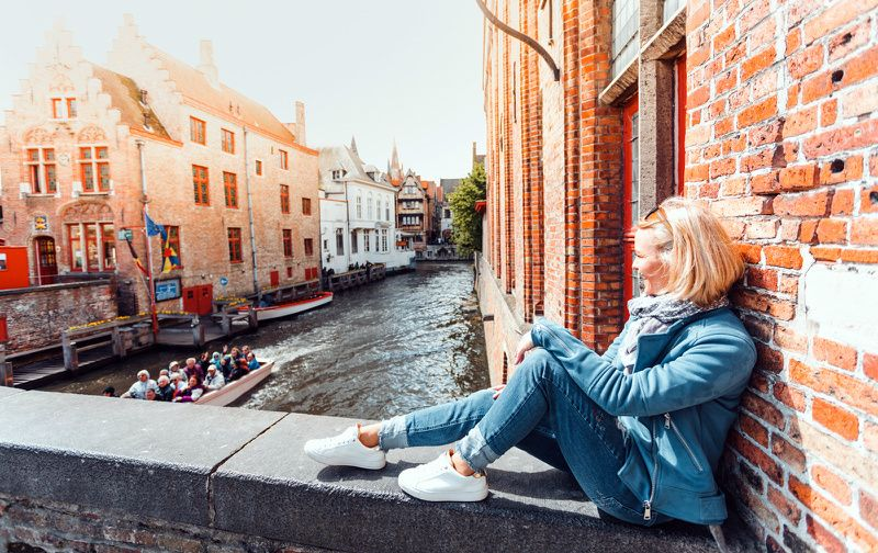 Bruges Day Tour from Paris w/ Audio-Guide