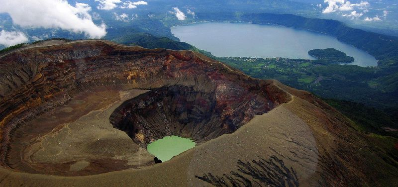 1-Day Hiking Santa Ana Volcano Crater Tour from San Salvador