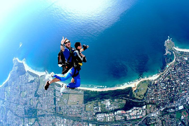Sydney Wollongong Tandem Skydive Experience