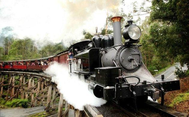 Puffing Billy Steam Train Ticket