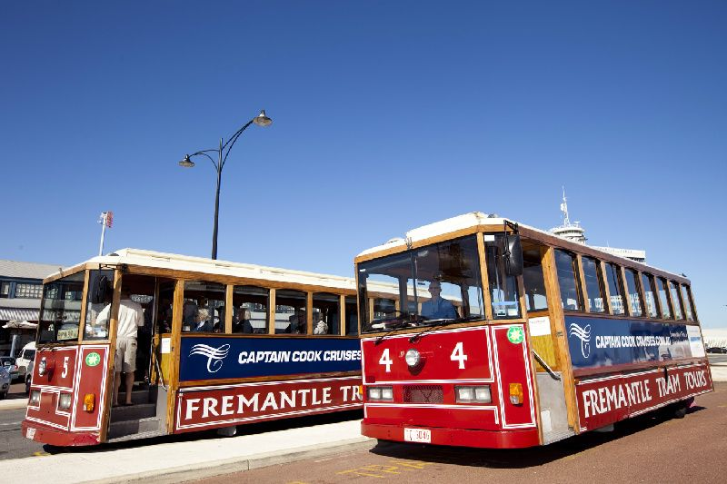 Fremantle Tram Tour and Cruise Return to Perth