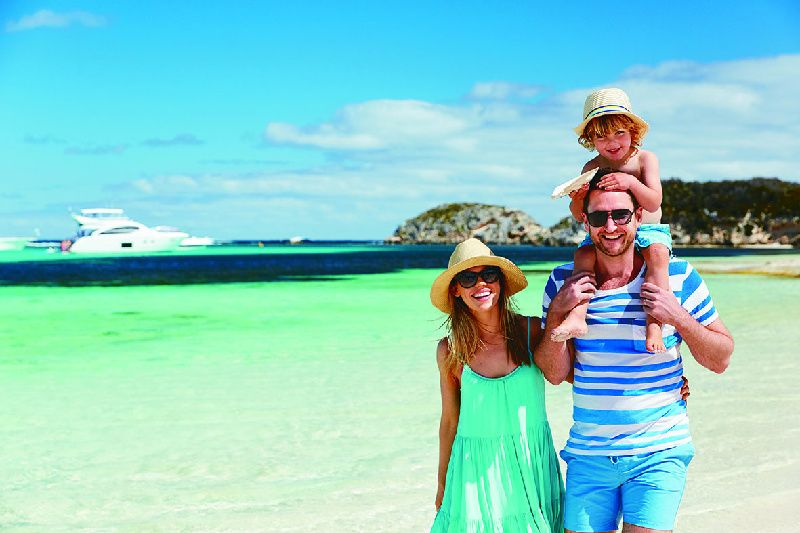 Rottnest Island Bayseeker: Ferry and Bus Tour Package