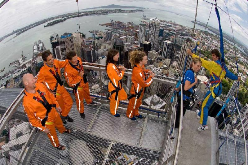 Auckland Sky Tower SkyWalk Day Tour