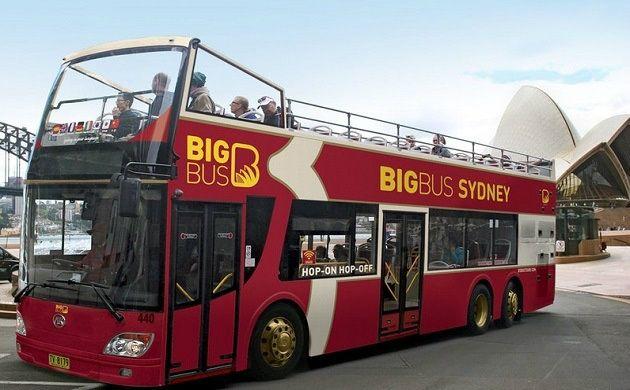 Sydney Hop-On Hop-Off Big Bus 24-Hour Ticket