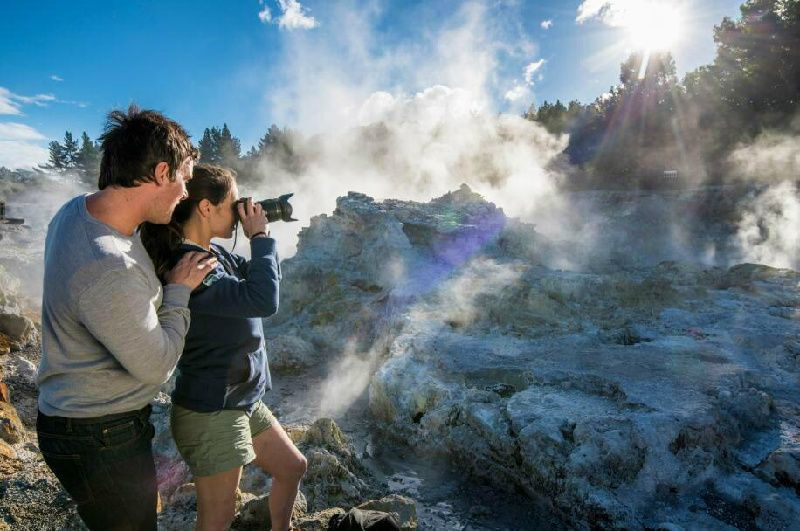 1-Day Rotorua Hells Gate Geothermal Park Tour w/ Mud Spa