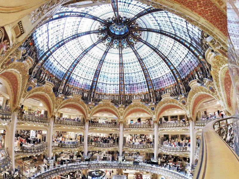 Galeries Lafayette Guided Tour