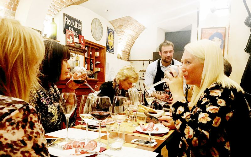 Milan Wine Tasting Tour