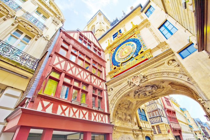 Rouen and Honfleur Small Group Tour from Paris w/ Lunch