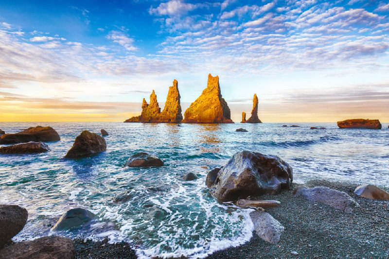 4-Day Reykjavik and South Iceland Vacation Package
