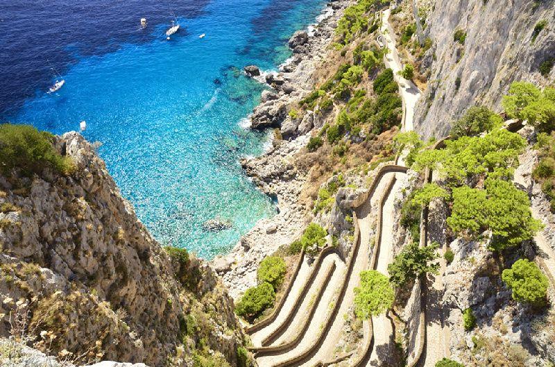 Boat Trip to Capri from Sorrento