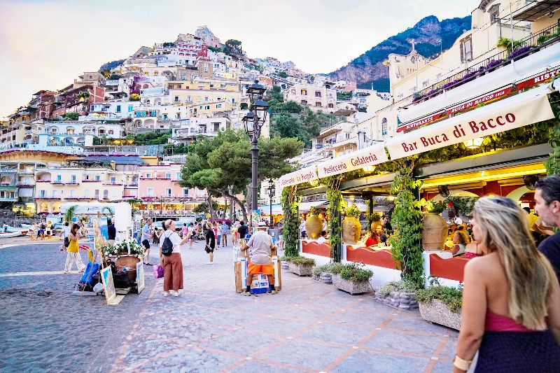 Positano Sunset Experience from Sorrento w/ 3-Course Dinner Option