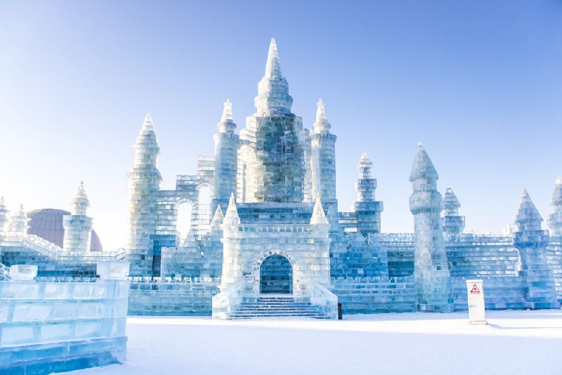 8-Day Ice Festival & Skiing Experience Tour in Northeast of China
