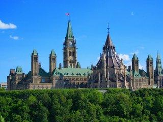 加拿大国会山庄