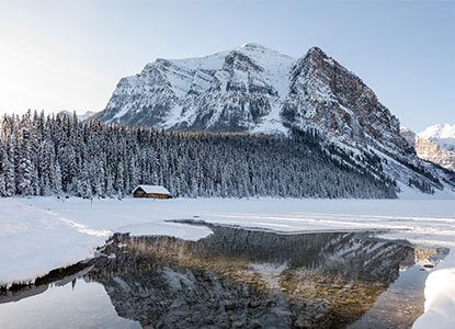 Winter in Banff